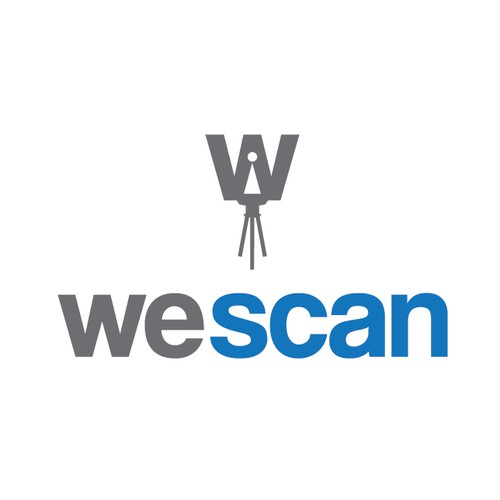 Unique logo for a 3D camera/scanner company