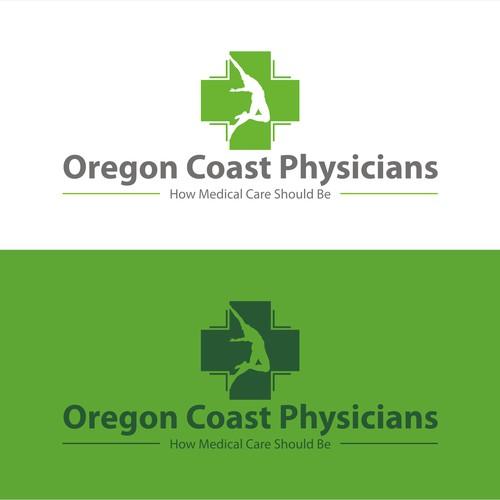 concept logo for Oregon Coast Physicians