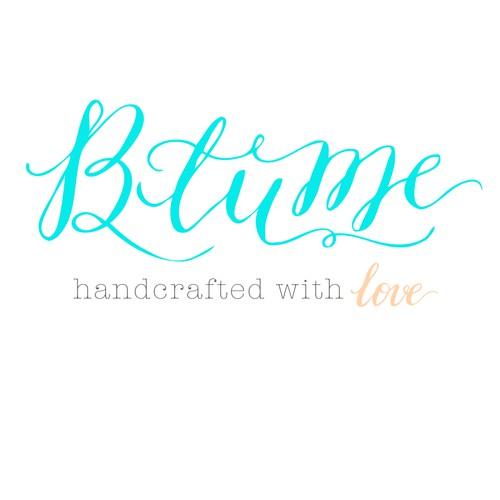 Romantic calligraphy logo