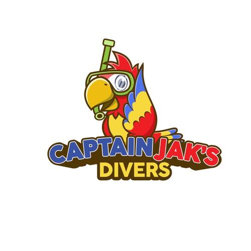 Parrot Logo Mascot