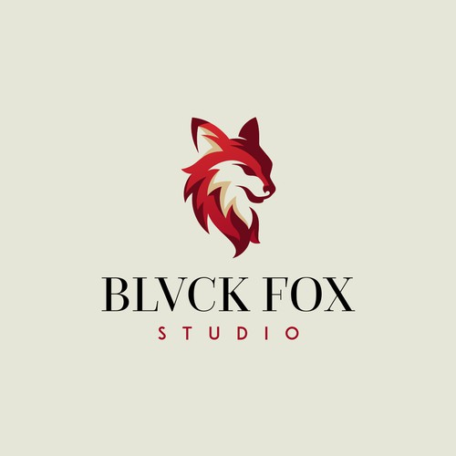 Logo Concept for Blvck Fox Studio