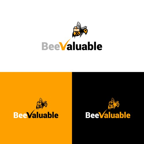 Logo Design for Bee Valuable