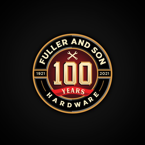 100th Year Anniversary Logo
