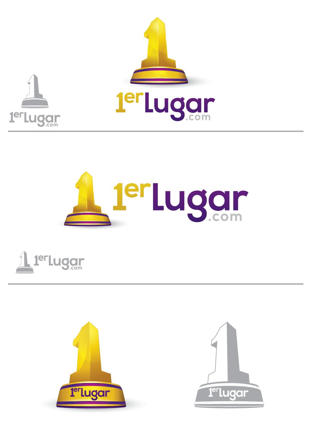 New logo wanted for 1erlugar.com