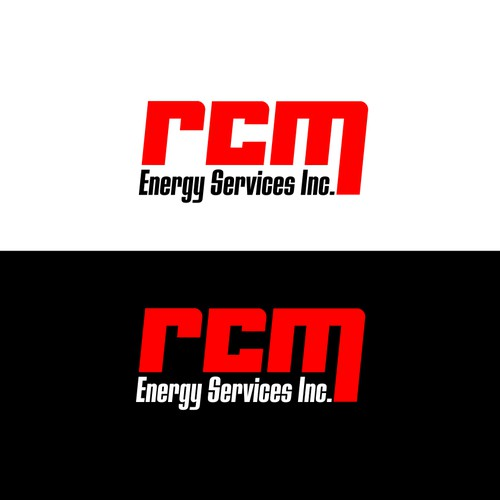 Create a logo for RCM Energy Services Inc.