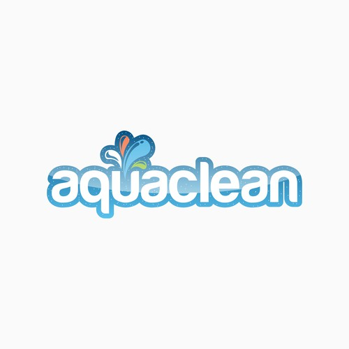 Aqua Clean Logo Designs