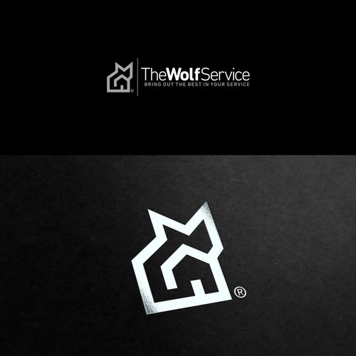 Wolf Service Logo