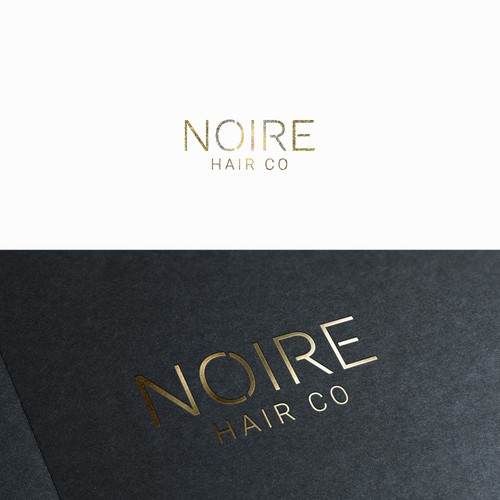 Elegant logo for hair company.