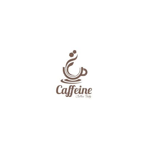 Caffeine Logo Design