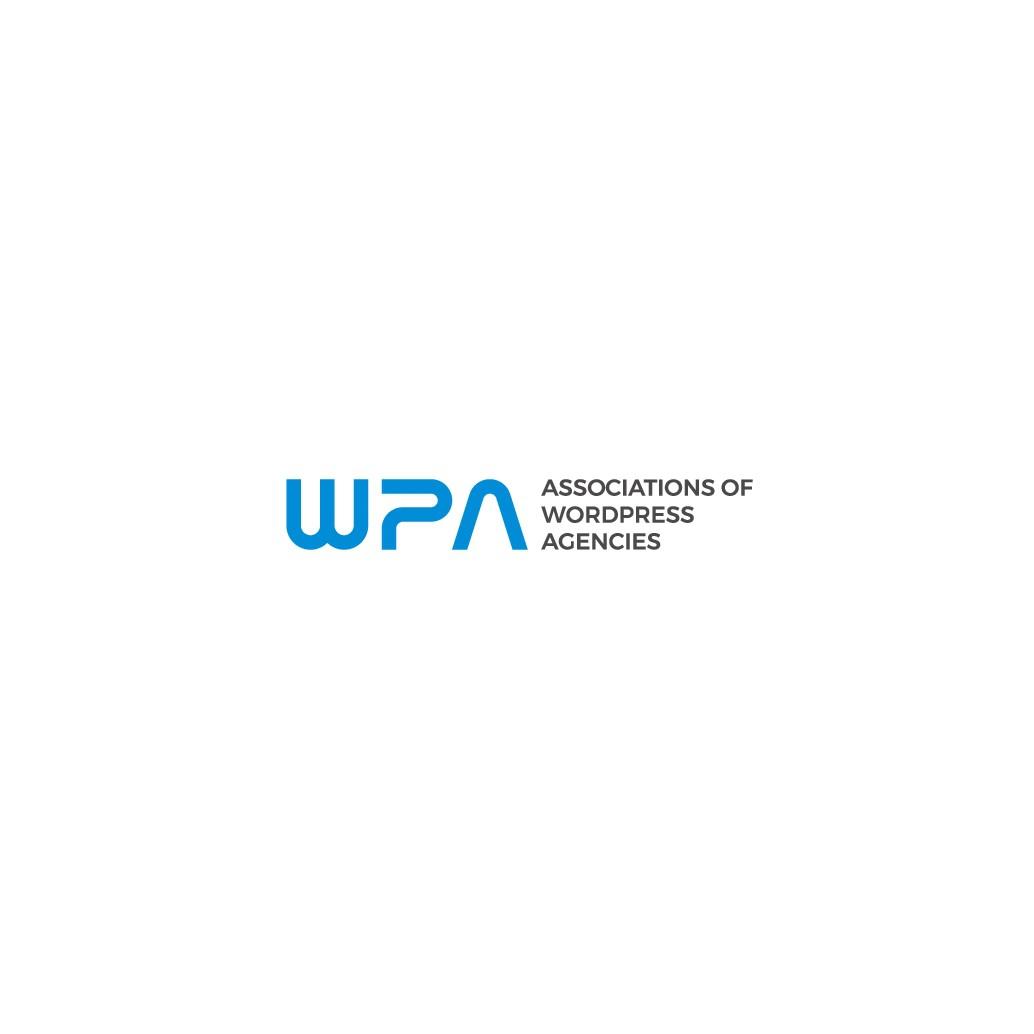 Create a modern logo for a WordPress association
