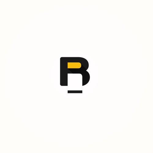 Create a minimalist style logo for a web shop