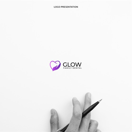 Logo for Glow Family Dental