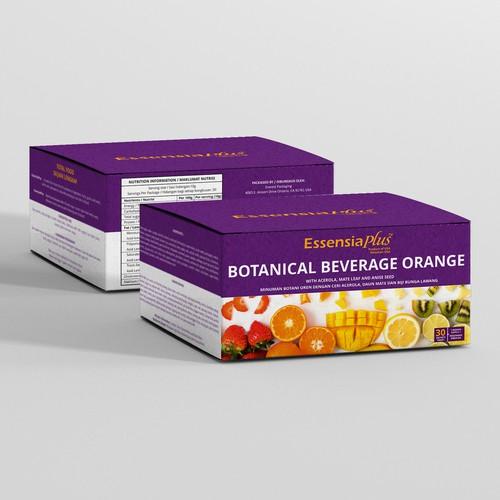 EssensiaPlus Packaging