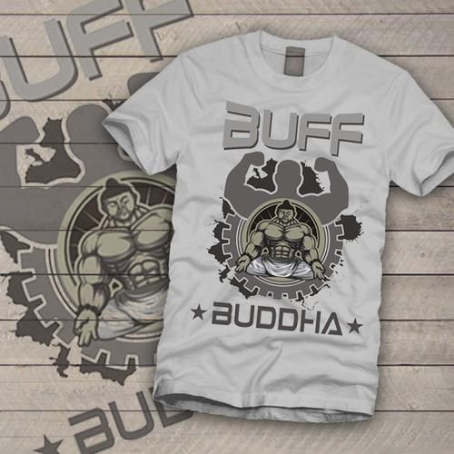 Buddha T-shirt Design
