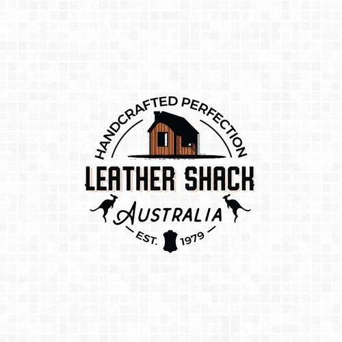 Leather manufacturer company logo