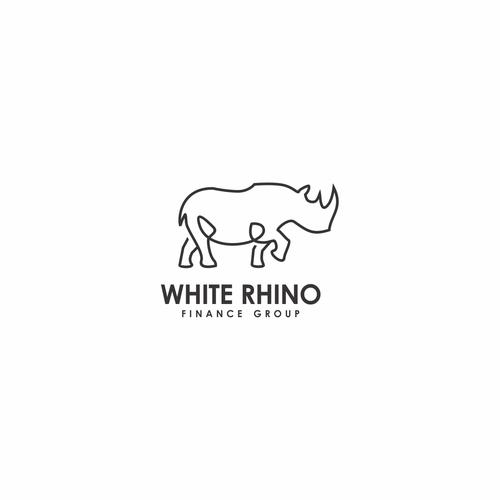 line rhino logo
