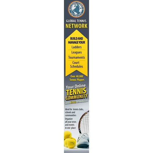 Magazine Add Needed for Tennis Site