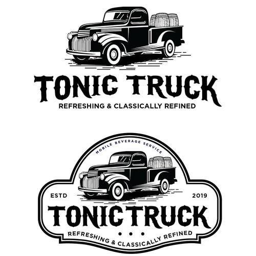 Design a Classy Upscale Logo for a Mobile Bar Service Truck