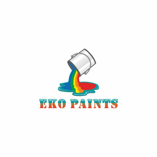 Logo concept for EKO Paints