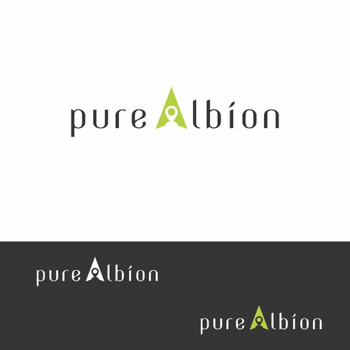 "Clean and modern logo for ""Pure Albion"""