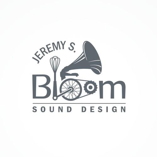 Logo for a sound designer.