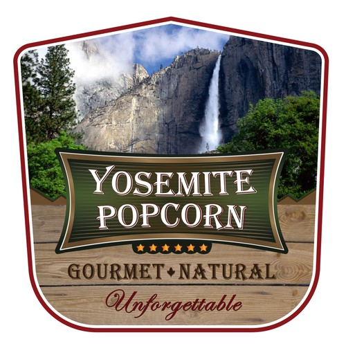 Label_Yosemite Popcorn