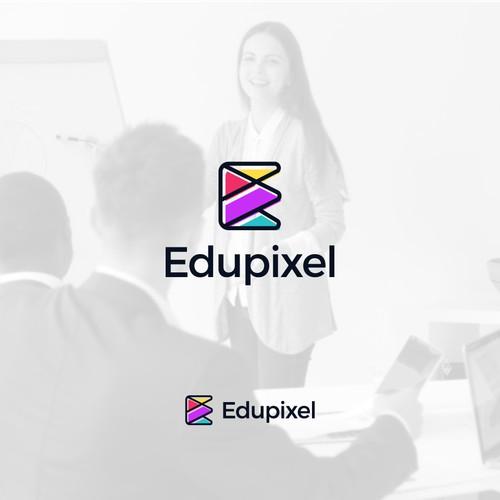 Edupixel logo design