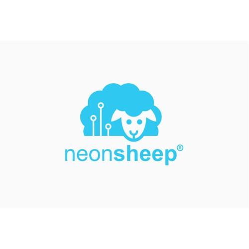 Create a memorable logo for Neon Sheep!