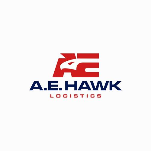 AE Hawk monogram