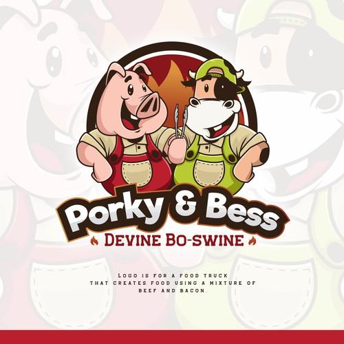 Porky and Bess Logo