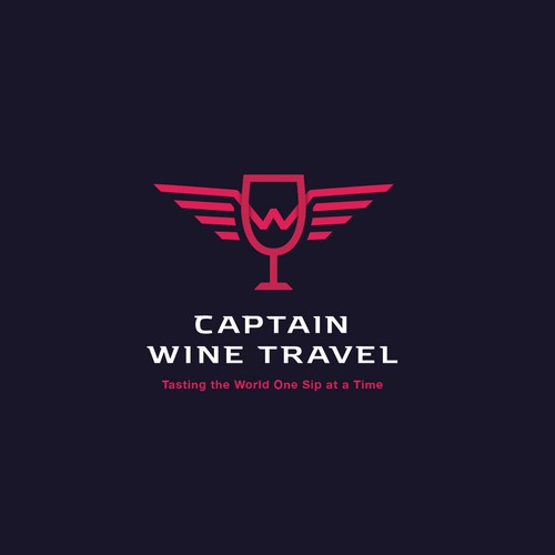 Captain Wine Travel Logo