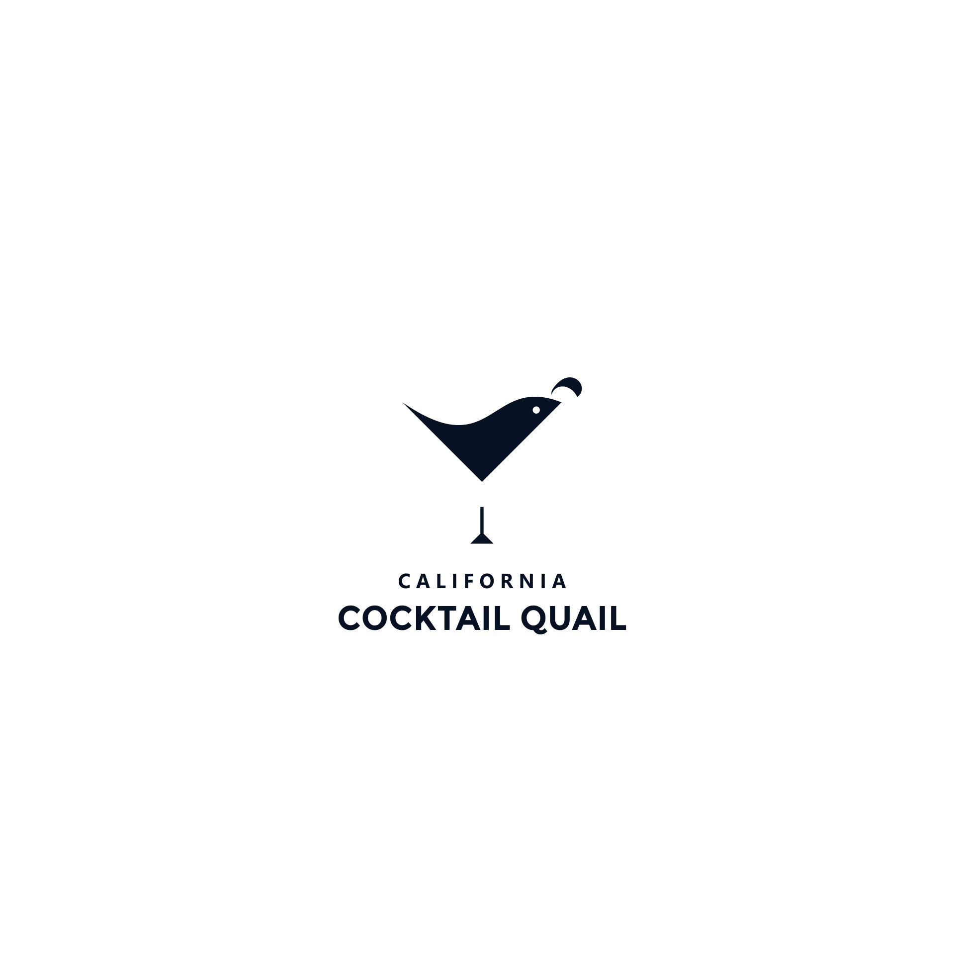 "Logo for ""California Cocktail Quail"""