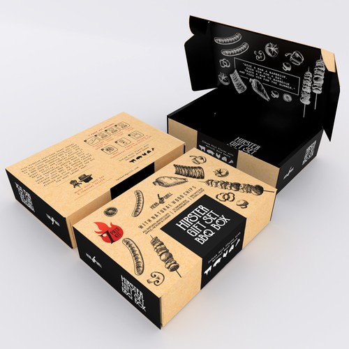 Hipster Packaging