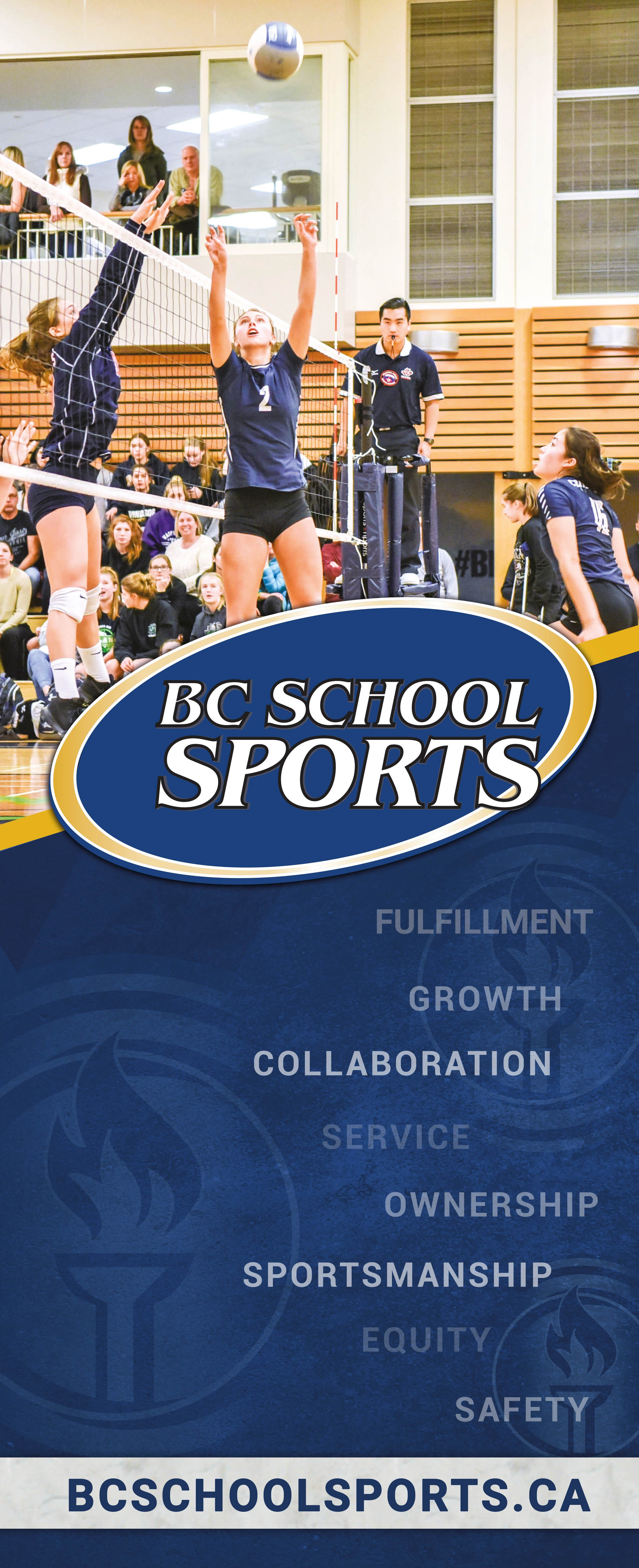 Design upbeat & exciting Pop Up  banners for BC School Sports!
