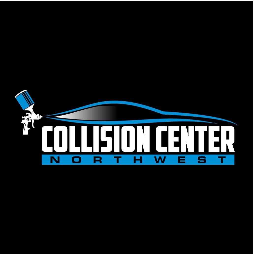 Dynamic auto body collision center logo