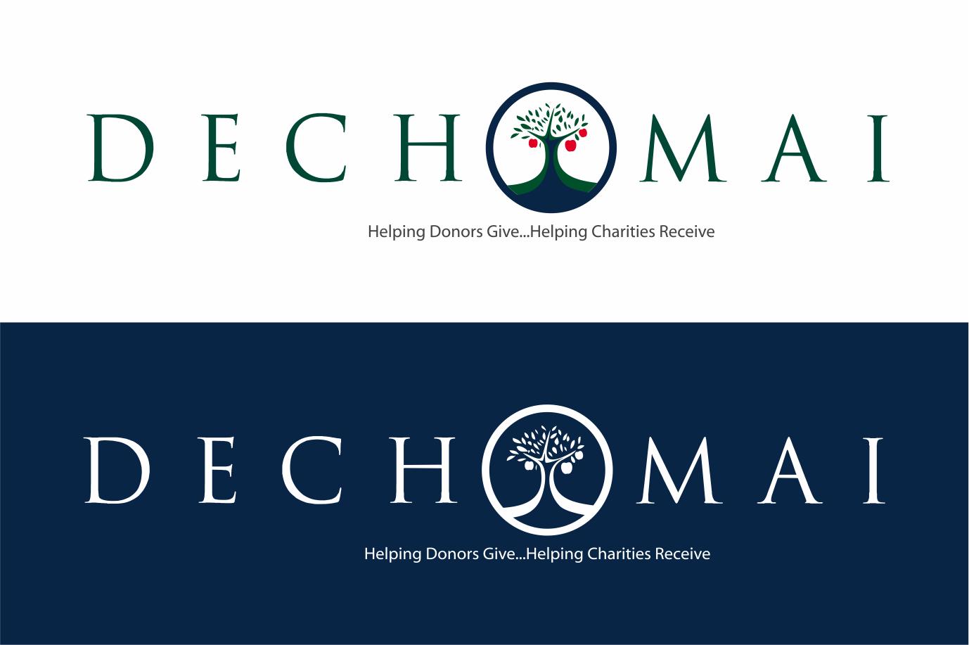 Dechomai needs a new logo