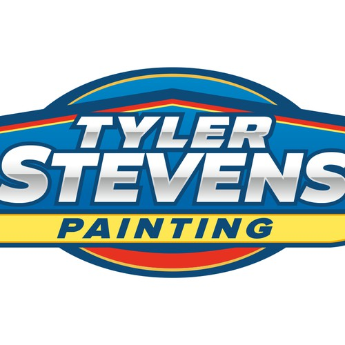 Painting logo concept