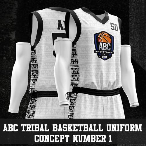 Tribal Basketball Uniform