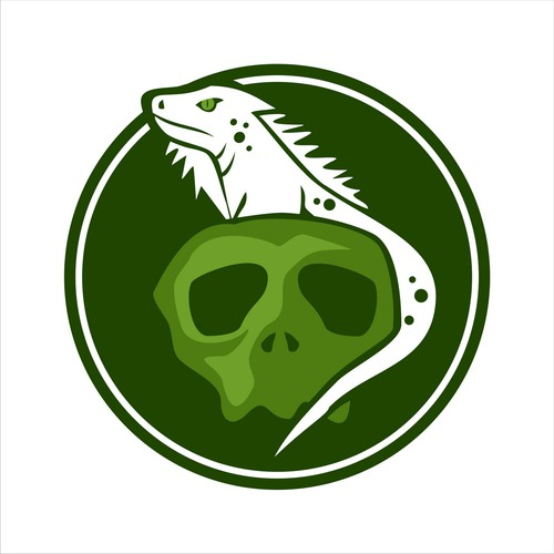 Skull and Reptile