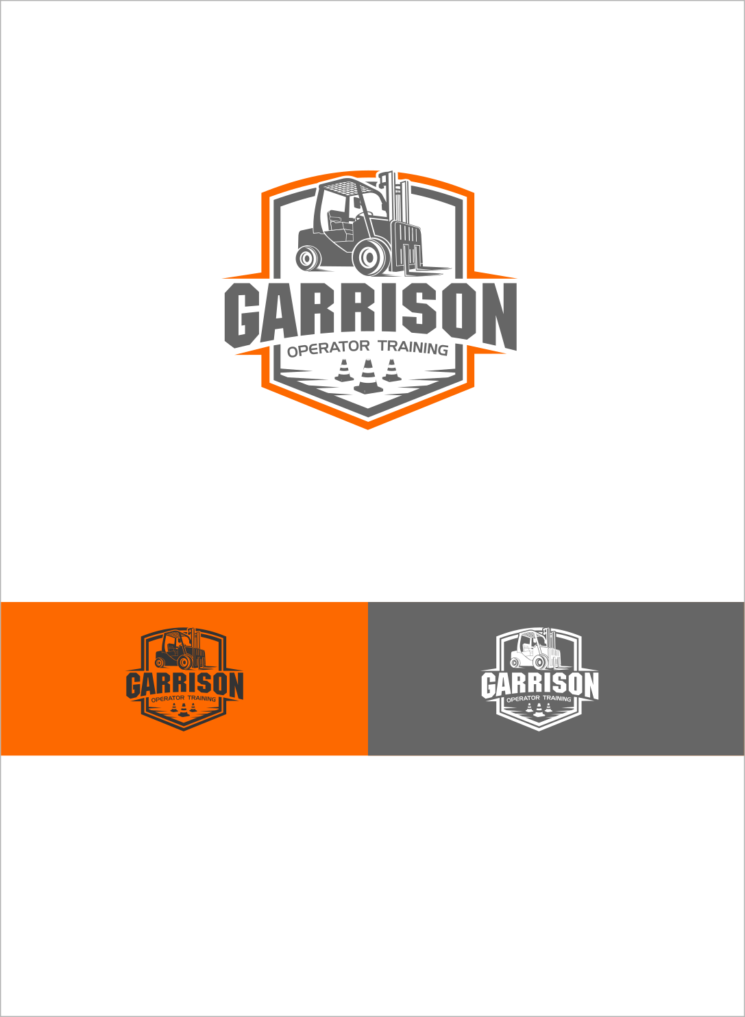 Design a Professional logo for  Forklift Operator Safety Training company