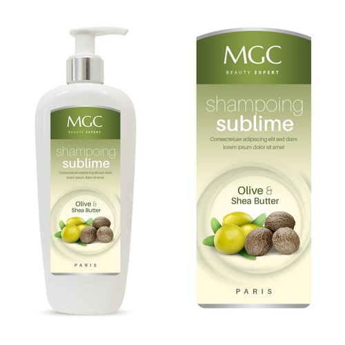 MGC Beauty Label Design