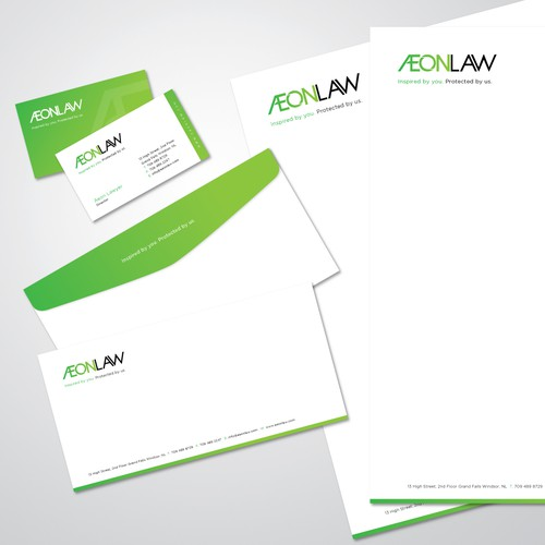 Æon Law Stationary & Cards (updated)