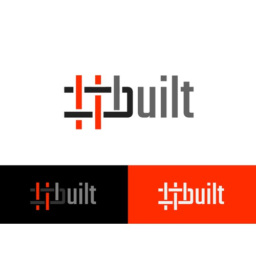 #built - logo to be corporate and architectural