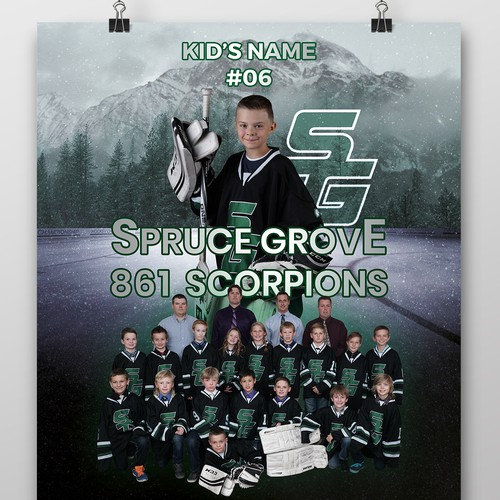Poster for Minor Hockey League