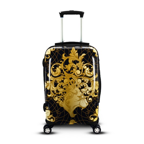 Baroque luggage design