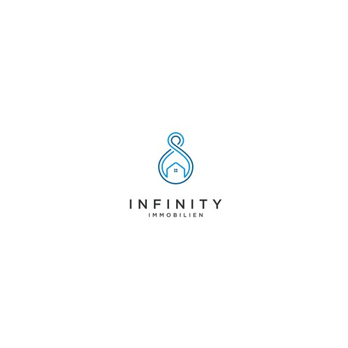 Logo concept for Infinity Immobilien