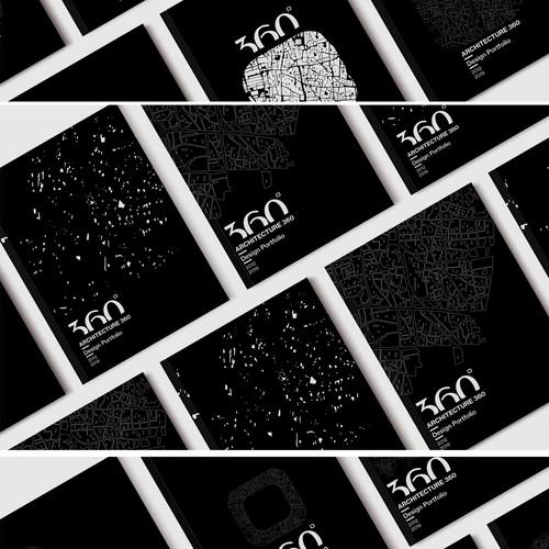 Architecture portfolio design
