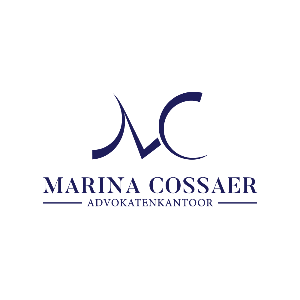 New logo for Marina Cossaer, atterney at law