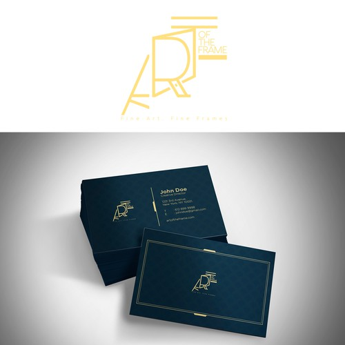 Art deco logo & bussiness card