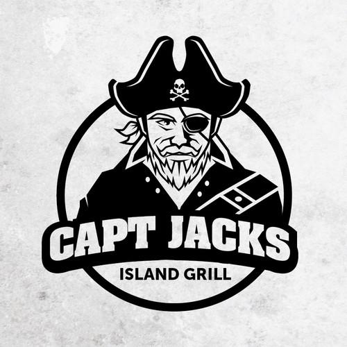 logo for Capt Jacks Island Grill